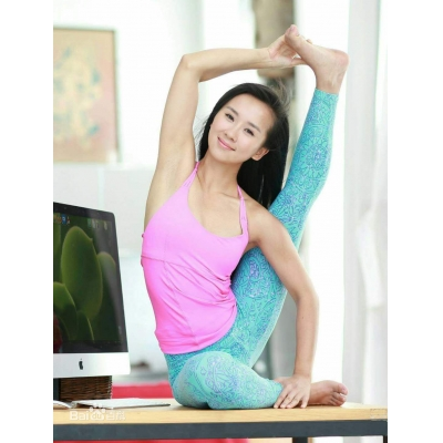 Yoga clothing women's fitness exercise yoga clothing suit Olympic sports brand